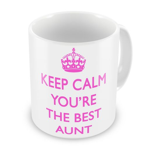 Keep Calm You're The Best Novelty Gift Mug - Pink